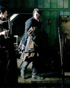 Outlander behind the scenes with Sam and Cait epi 3 The Way Out.