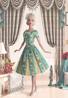 Vintage Barbie -made her debut in 1959