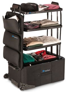The Shelfpack - A Revolutionary Suitcase With Integrated Shelves For Easy Travel - GoodGood