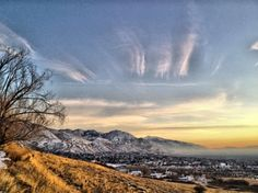 View from one of my favorite hiking spots - Bonneville Shoreline Trail in SLC, Utah Photo A Day, First Photo, Slc Utah, Hiking Spots, Utah Hikes, Pretty Pictures, Trail, Destinations, Backyard