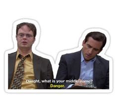 Dwight schrute sticker in 2019 Meme Stickers, Phone Stickers, Snapchat Stickers, Office Quotes, Office Memes, Dwight Schrute Quotes, The Office Stickers, The Office Show, Aesthetic Stickers