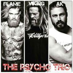The Psycho Trio of the Hades Hangmen MC. Tillie Cole ❤