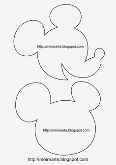 Moldes+Mickey.jpg (1130×1600)