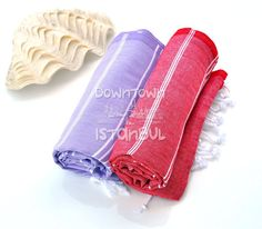 Bath Towel Peshtemal Set of 2 Turkish Bath by DowntownIstanbul, $29.99