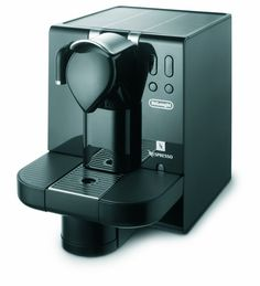 DeLonghi EN670.B Nespresso Lattissima Single-Serve Espresso Maker, Black -- Check out the image by visiting the link.
