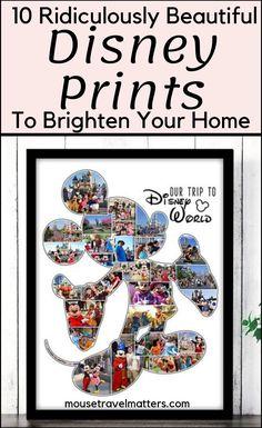 10 Ridiculously Beautiful Disney Prints From ETSY Disney Baby Rooms, Disney Home, Disney Diy, Disney Ideas, Disney Stuff, Disney Designs, Disney Family, Disney Magic, Walt Disney World Vacations