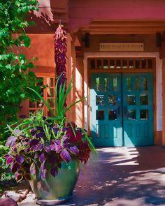 Santa Fe Grace - Southwest Photograph - New Mexico architecture - Home Decor, SW…
