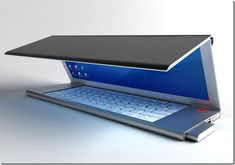 Fold concept of the LCD Notebook