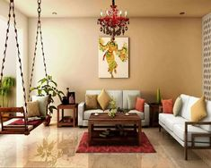 Amazing Living Room Designs Indian Style, Interior and Decorating Ideas - ARCHLUX.NET Amazing Living Room Designs Indian Style, Interior Design and Decor Inspiration Living Room Designs India, Indian Living Rooms, Living Room Decor India, Indian Interior Design, Interior Design Minimalist, Traditional Interior, Interior Modern, Simple Interior, Interior Colors
