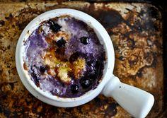 Hot Blueberry Cheddar Dip: recipe