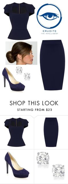 """""""Untitled #53"""" by ravenclaw20232 ❤ liked on Polyvore featuring Roland Mouret, WearAll and Jimmy Choo"""