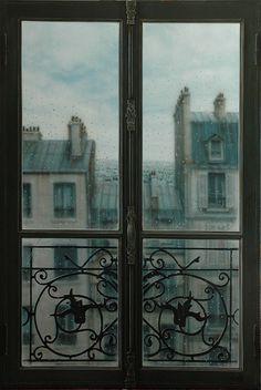 Even when it rains it's still Paris