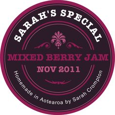 The Jam Labelizer: Create custom labels for your preserves. www.jamlabelizer....
