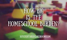 How big is the homeschool burden?