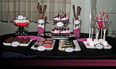 Fashion Show Dessert Table