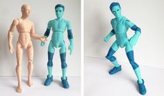 3DKitbash Unveils First Printed Models of NiQ, the Easily 3D Printable Alien Action Figure http://3dprint.com/49652/niq-3d-printed-action-figure/
