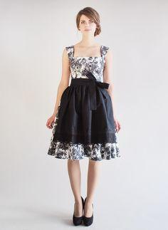Entdecke lässige und festliche Kleider: B.L.A.N.K.E.T dirndl skirt made by Femkit via DaWanda.com