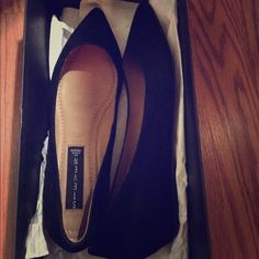 Steve Madden classic black point toe flats Women's size 7.5 , Never before worn. Steve Madden Shoes Flats & Loafers