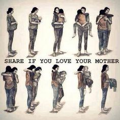 Funny pictures about Go and give your mom a hug. Oh, and cool pics about Go and give your mom a hug. Also, Go and give your mom a hug. Love Your Parents, I Love You Mom, Mothers Love, Happy Mothers, My Mom, Mother Daughters, Aging Parents, Mother Son, Circle Of Life