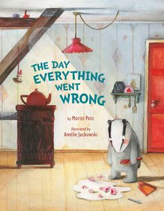 The Day Everything Went Wrong  Badger decides to give himself a treat and only do things that he enjoys! But from the moment he gets out of bed and nearly knocks over his lamp, everything goes wrong. When he visits each of his friends, he discovers something surprising . . . Could everyone be having a miserable day? But Badger's biggest surprise of all happens when he gets back home.