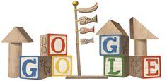 Google こどもの日を記念して積み木とこいのぼりのロゴに!
