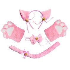 Women Lady Cat Kitty Maid Cosplay Costume Set Plush Ear Bell Headband Bowknot Collar Choker Tail Paws Gloves Anime Lolita Props – Pink Gender: WOMENCharacters: Cat MaidMaterial: PolyesterModel Number: Hair HoopOrigin: CN(Origin)Brand Name: XONEMATHYQuantity: 1 setOptional Color: Black, White, Gray, Pink, CamelHead circumference: 50-60cm(19.69-23.62in)Material: Cloth Women Lady Cat Kitty Maid Cosplay Costume Set Plush Ear Bell… yazısı ilk önce Party üzerinde ortaya çıktı.