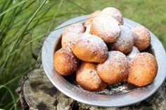 Bögrés fánk (magától megforduló) Hungarian Recipes, Churros, Pretzel Bites, Baked Potato, Cake Recipes, Muffin, Food And Drink, Potatoes, Favorite Recipes
