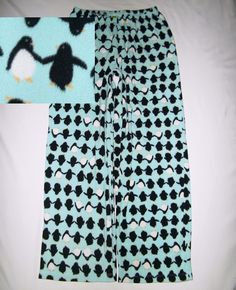 HUE Women's Penguin Soft Fleece Pants M Animal Lover Marine Ocean Wildlife EUC #HUE #LoungePantsSleepShorts