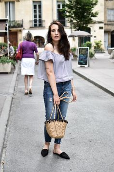 blogueuse mode fashion blogger ootd outfit summer mules