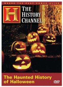DVD - The Haunted History of Halloween (History Channel) … Every October 31 pint-sized ghouls and goblins wander through neighborhoods knocking on doors and asking for treats . . . little do they know they're actually carrying out an ancient tradition dating back thousands of years. Join Harry Smith of CBS's The Early Show as he leads this 3000-year expedition through the history of the characteristically pagan holiday of Halloween. Halloween Dvd, Halloween History, Halloween Birthday, Holidays Halloween, Halloween Pumpkins, Happy Halloween, Halloween Decorations, Halloween Ideas, Halloween Scene