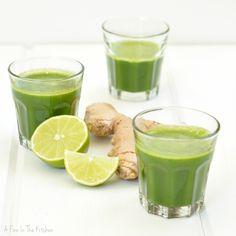 Green Zinger Juice |A Finn In The Kitchen