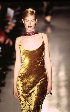 431eb14f094 Meghan Douglas - Donna Karan Fall Winter 1996 1997 New York