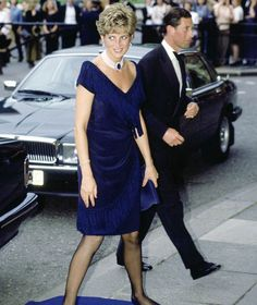 Prince Charles and Princess Diana arrive at the Royal Albert Hal [Tim Graham/Getty Images]
