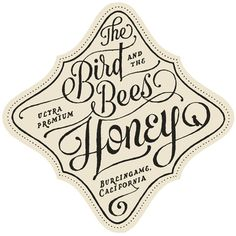 The Bird and the Bees Honey label