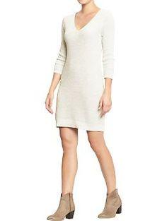 Women's V-Neck Sweater Dresses | Old Navy