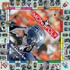 Seattle Seahawks Monopoly Game