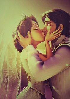 19 Reasons Rapunzel And Flynn Rider Are The Best Disney Couple Walt Disney, Gif Disney, Disney Couples, Disney Tangled, Disney And Dreamworks, Disney Love, Disney Magic, Disney Art, Disney Pixar