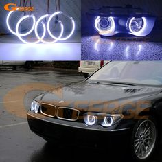Find More Car Light Assembly Information about For BMW E65 E66 745i 745Li 760Li 760i 2002 2005 XENON HEADLIGHT Excellent Ultra bright illumination COB led angel eyes kit,High Quality led angel,China led angel eyes Suppliers, Cheap xenon headlight from Geerge-Tech on Aliexpress.com