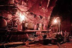 旧ソ連の遺物、ロシアのハドロンコライダー(粒子加速器)廃墟