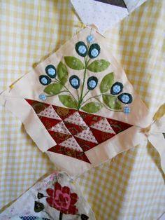 "Supergoof Quilts: Hoi Bloemen Meisjes"""