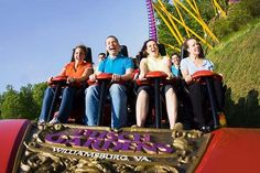 Williamsburg vacation with Busch Garden tickets