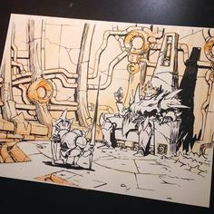 Inktober 2014 Day 11 by Jake Parker