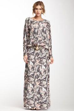 .KIM K Givency inspired Floral Dress