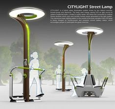 Street Lamp and Fitness Equipment Blend Into Smart Lighting Concept. Is it just … Street Lamp and Fitness Equipment Blend Into Smart Lighting Concept. Is it just me or this is retarded. Doesn't this defeat the whole concept…. Outdoor Fitness Equipment, No Equipment Workout, Urban Furniture, Street Furniture, Furniture Stores, Lighting Concepts, Lighting Design, Landscape Architecture, Landscape Design