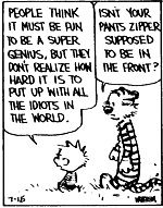 calvin and hobbes quotes | No commentary necessary. Calvin and I are two peas in a pod.