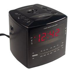 Hidden Spy Camera / Motion Activated Digital Video Recorder Clock Radio