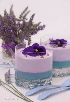Lavender Mousse by theresahelmer