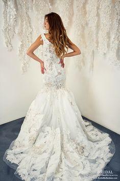 Ysa Makino Wedding Dress and Bridal Gown Collection Bridal Dresses, Wedding Gowns, Bridal Reflections, Bridal Dress Design, Bridal Salon, Special Dresses, Bride Look, Mermaid Wedding, Dress Collection