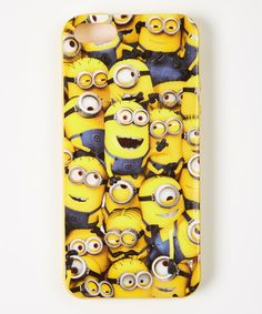Yellow Many Minions Case for iPhone 5/5s by Despicable Me #zulily #zulilyfinds
