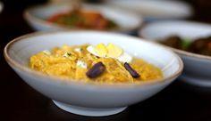 ▷ Ají de gallina Peruano | CONPOLLO.ME | Recetas de cocina con pollo Tapas, Oatmeal, Pudding, Breakfast, Desserts, Food, Sliced Potatoes, Stir Fry, Cooking Recipes